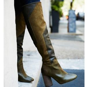 Free People Bright Lights Over the Knee Boot 36/6